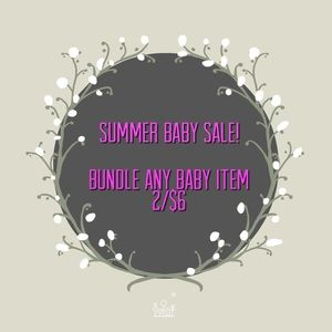 Sale! Baby bundles 2 for $6